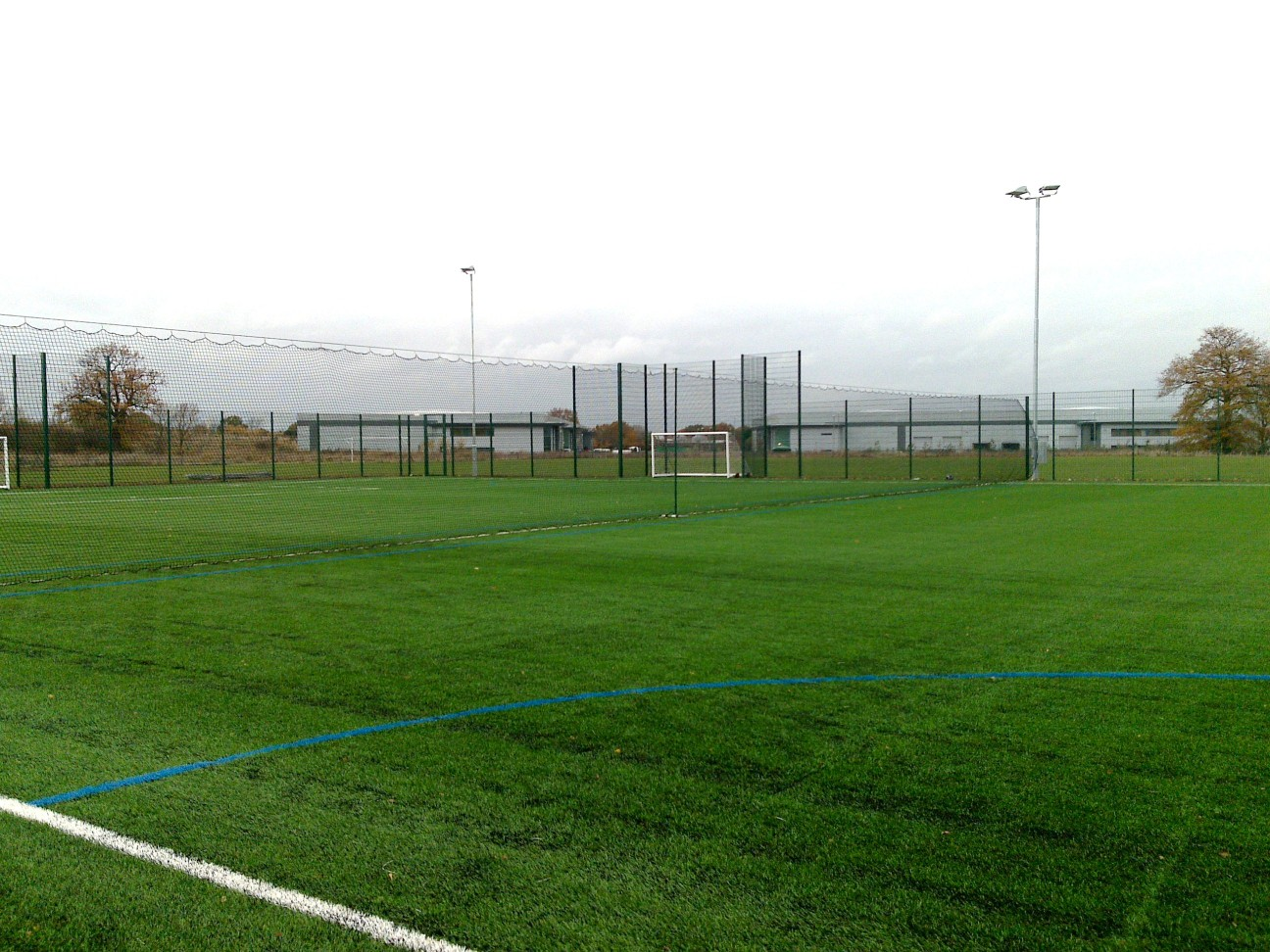 ETC Sports Surfaces are experts in installing 3G football pitches and can finish your pitch with fencing and floodlighting options