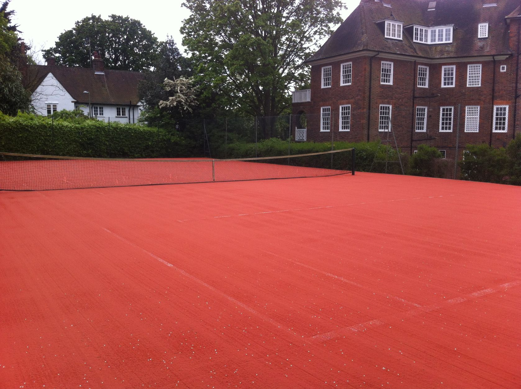 ETC Sports Surfaces will find just the right artificial clay tennis courts for your facility and players.