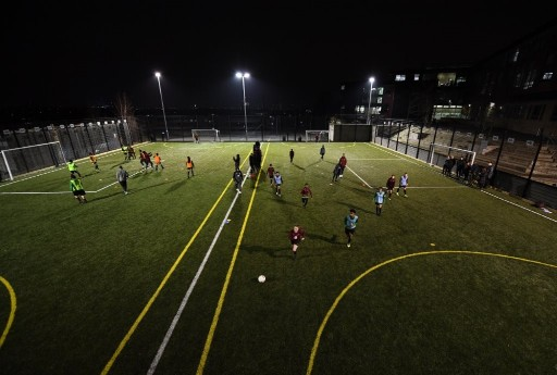 For UK sports facilities, a 3G pitch offers a natural turf feel with a long lifespan and safe playing conditions