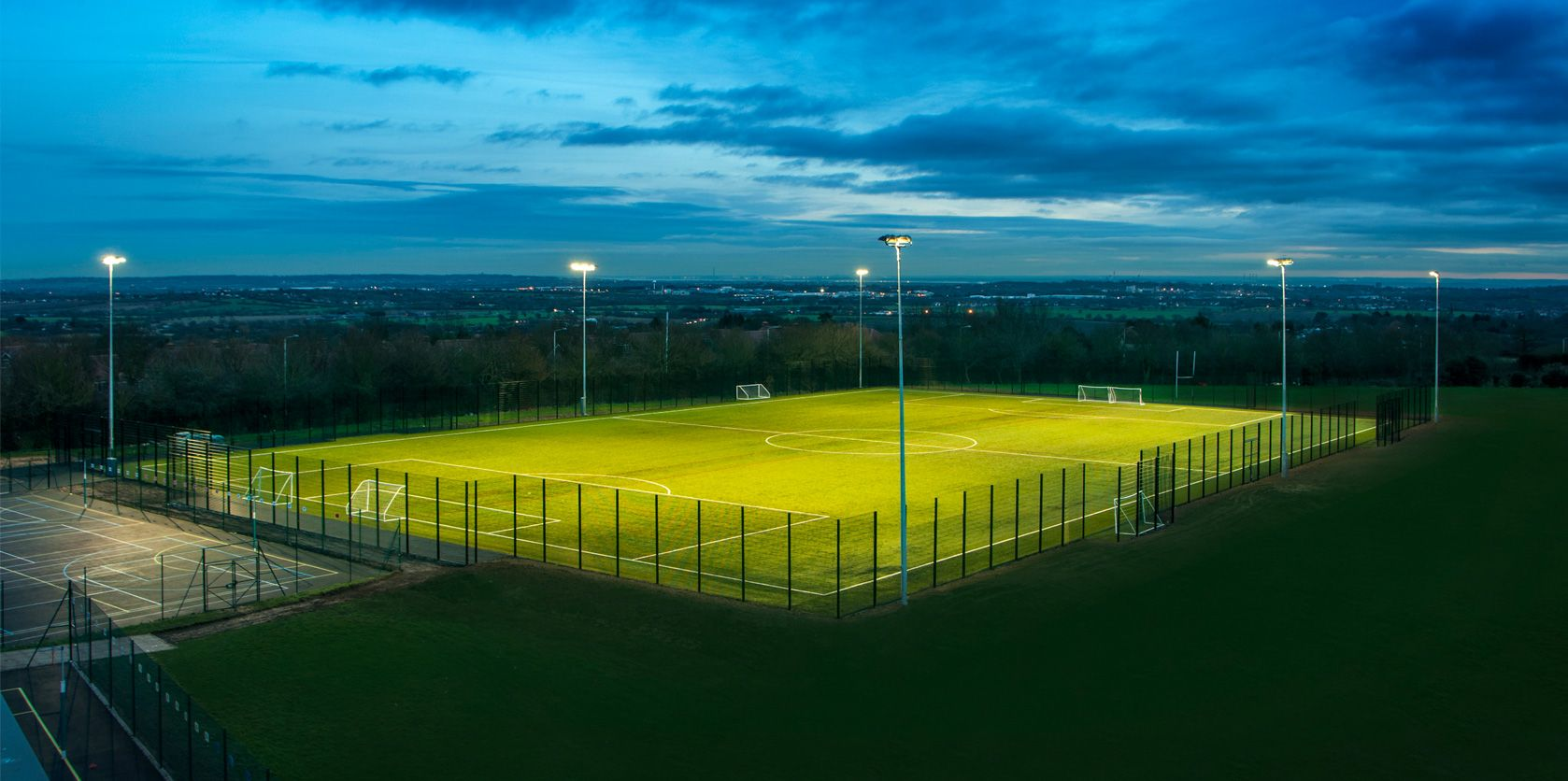 Football pitch construction from UK experts ETC Sports Surfaces