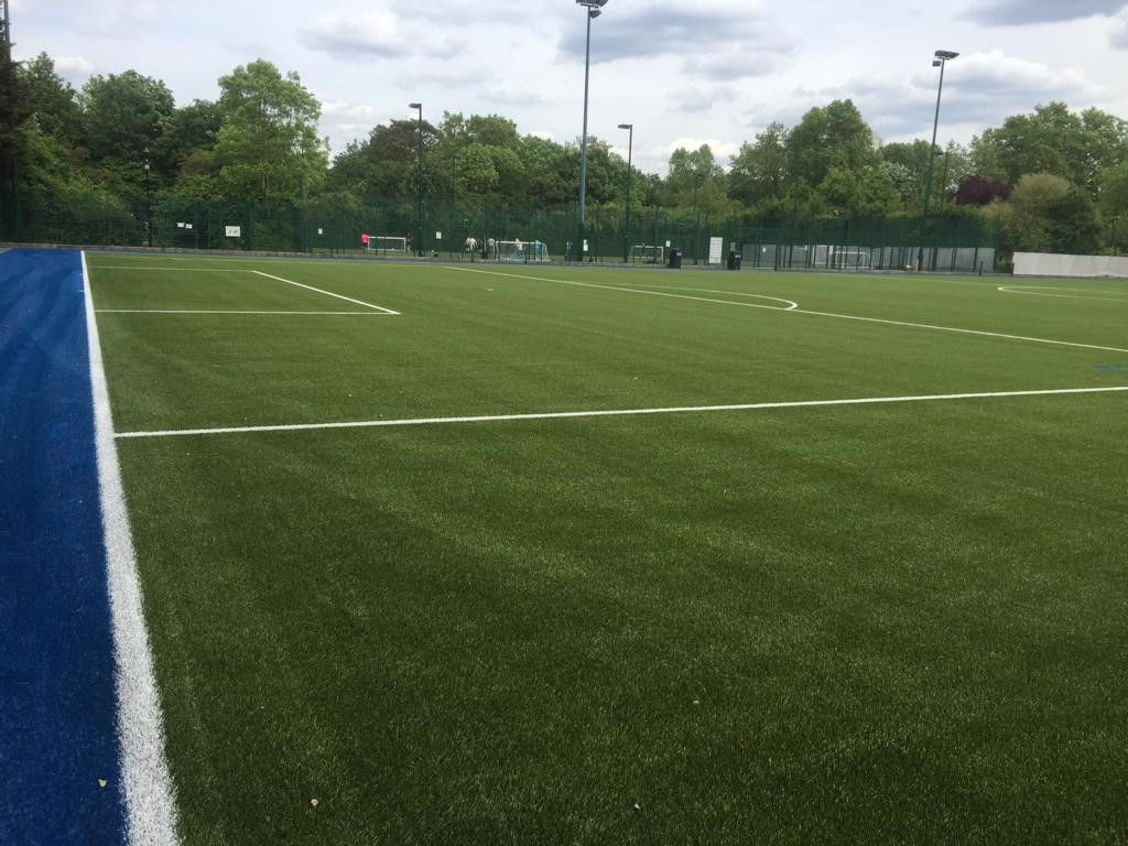 Football pitch construction costs depend on the size, specification and finish of the artificial pitch