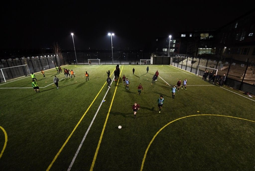 Football pitch construction for UK clubs, schools, training facilities and MUGAs
