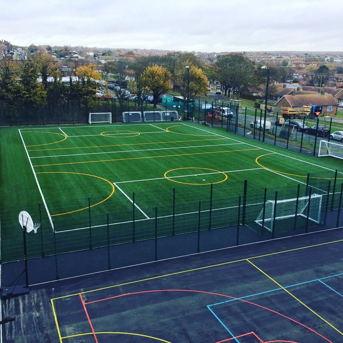 ETC Sports Surfaces are specialists in football pitch construction across the UK