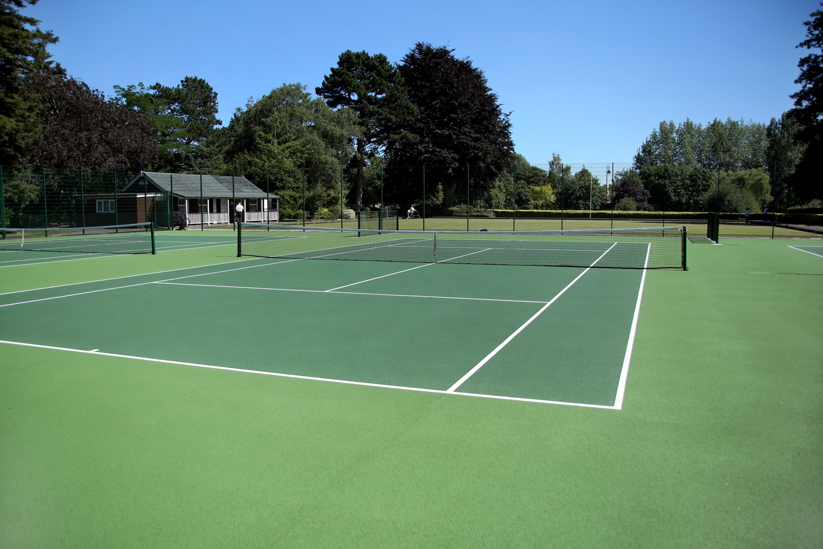 ETC Sports Surfaces have a thirty-year reputation for high quality, cost effective tennis court construction in the UK