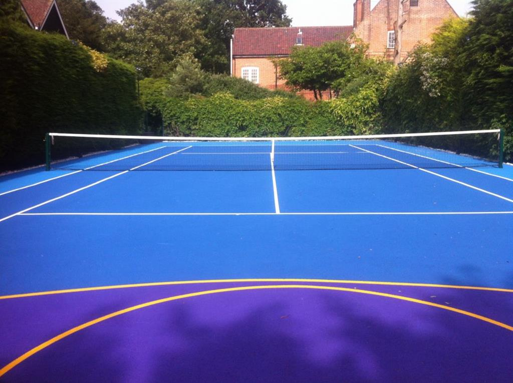 Tennis Court Surfaces, Image of Tennis Court Construction (13)