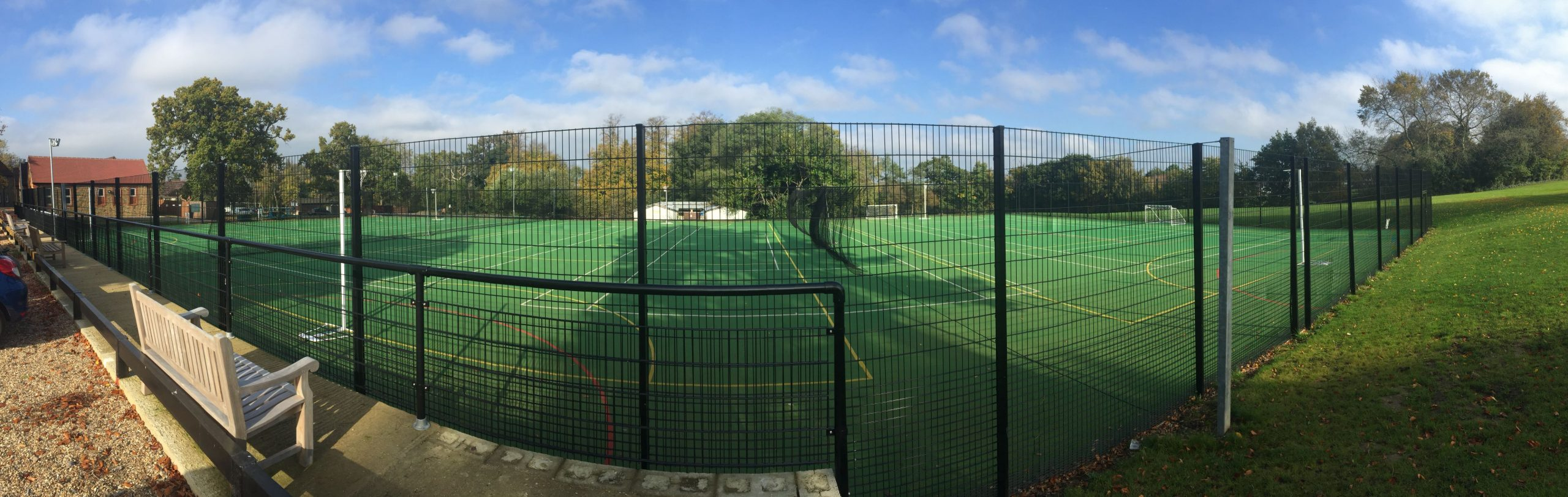 ETC Sports Surfaces provide MUGA surfaces plus equipment and fencing to finish your facility perfectly.