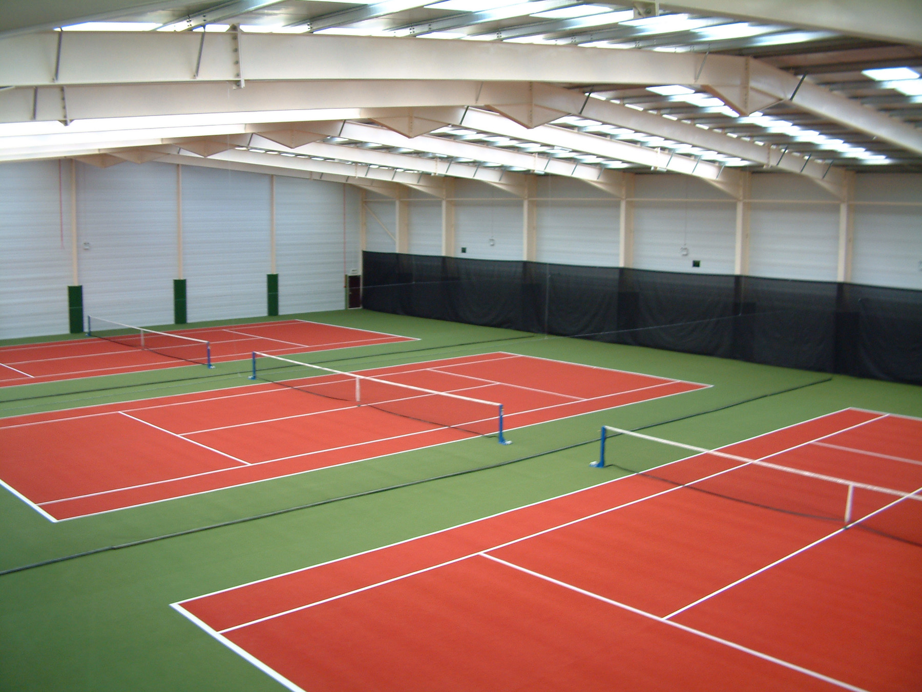 Matchplay 2 sports surfaces from ETC Sports Surfaces are affordable, hardwearing and suitable for indoor or outdoor use.