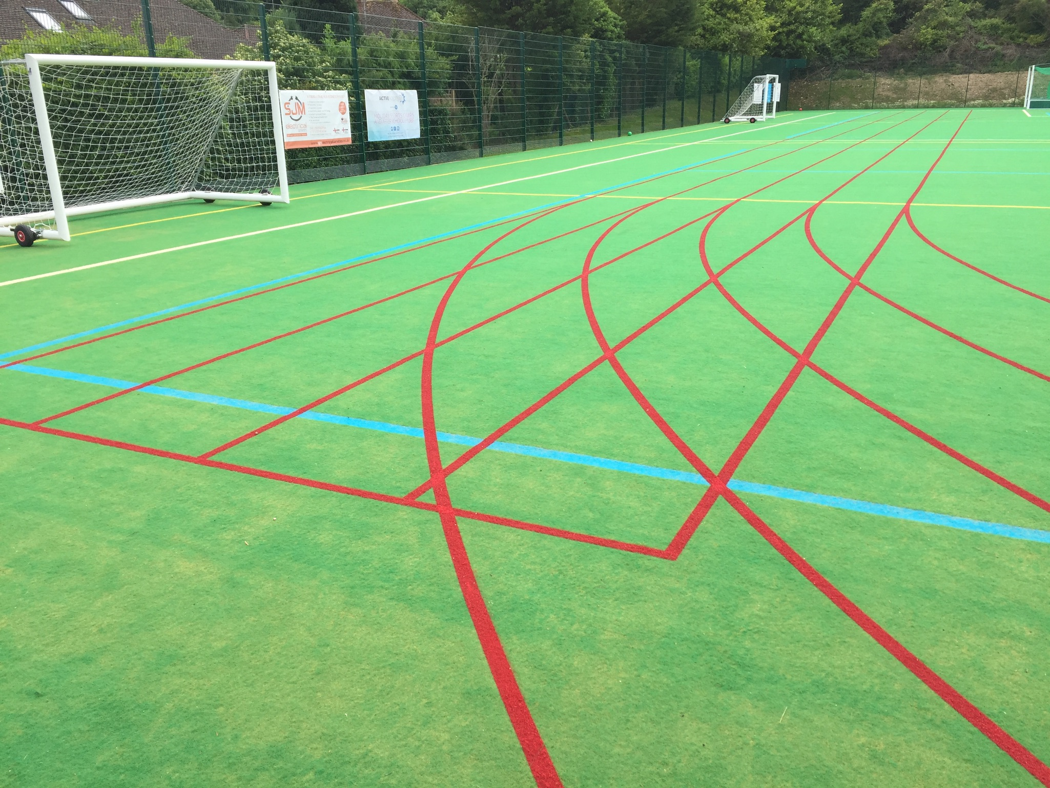 Matchplay II surfaces are ideal for wide range of sports, from court sports to full contact sports and athletics.