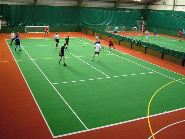ETC Sports Surfaces are experts in installing MUGA surfaces with a needle punched finish.