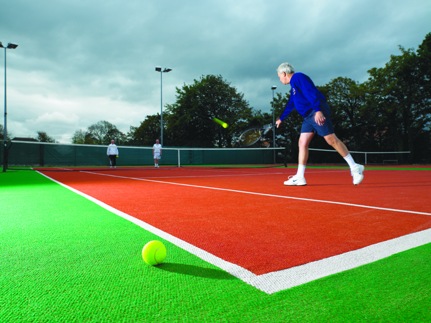 Needle punched carpets are a robust, cost effective solution for all sports and level of play.