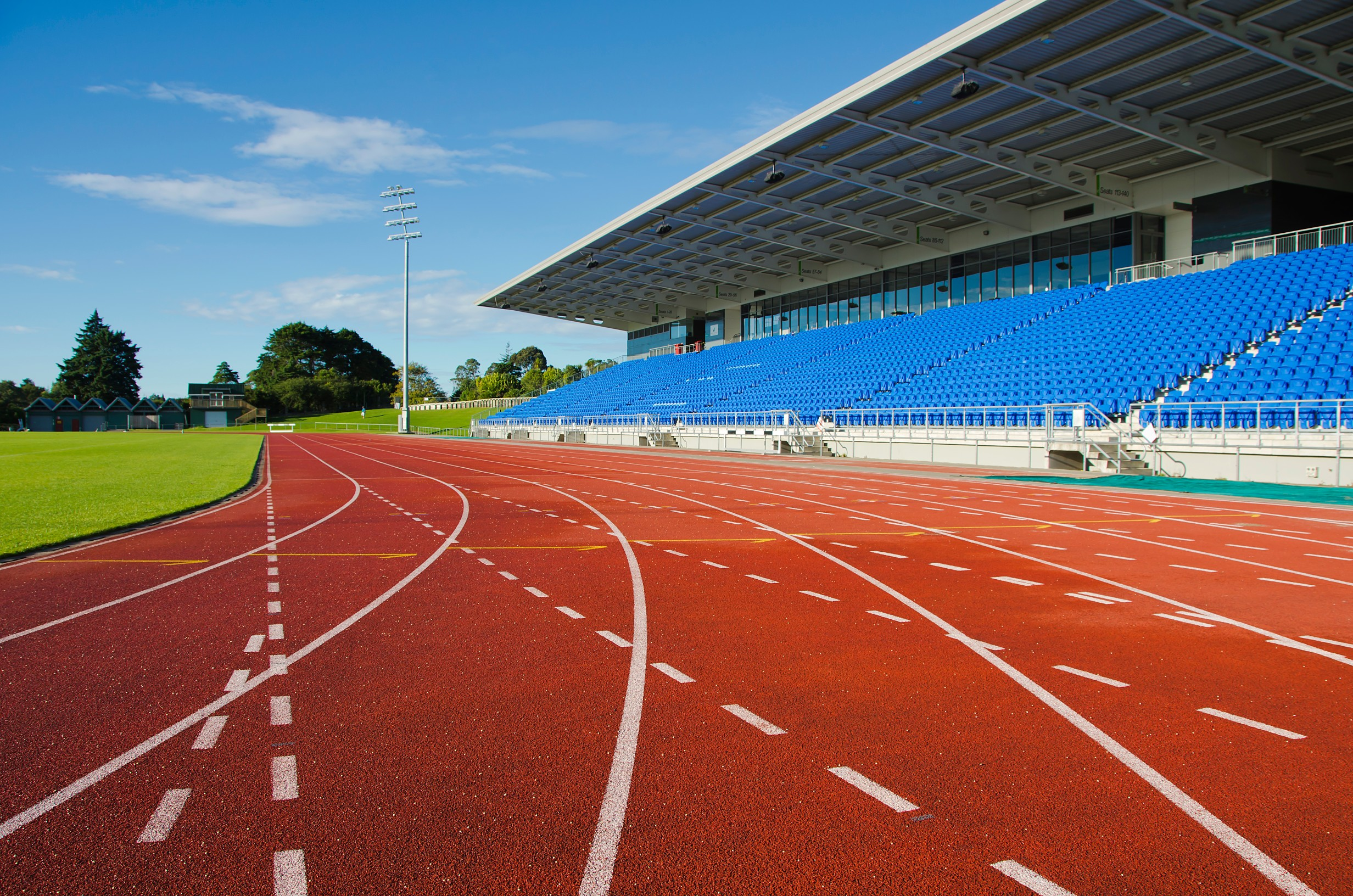 olymeric technology provides the ideal surface for any size of running track installation.