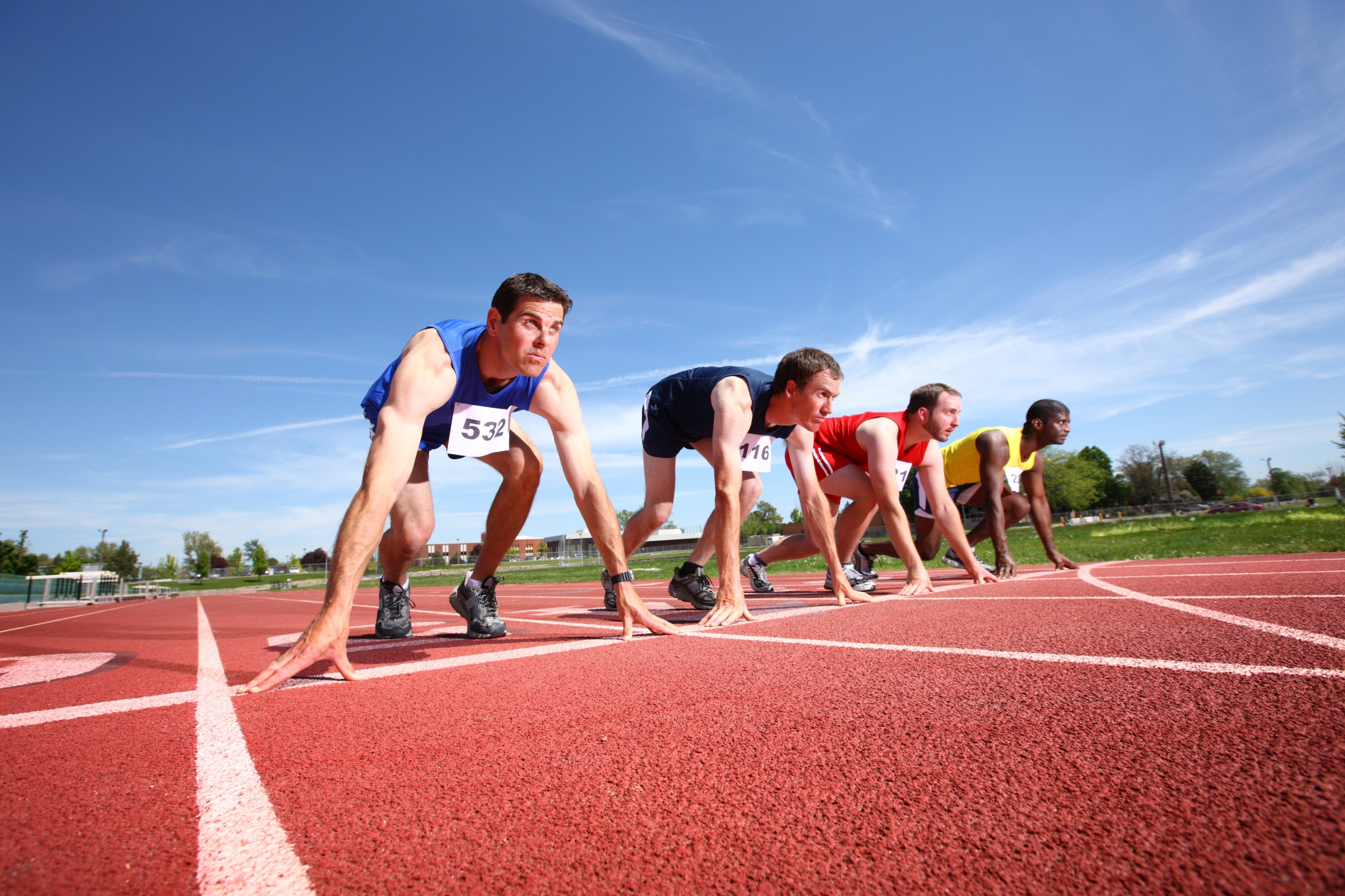 Polymeric surfaces are the ideal solution for athletics tracks and court sports played on a MUGA.