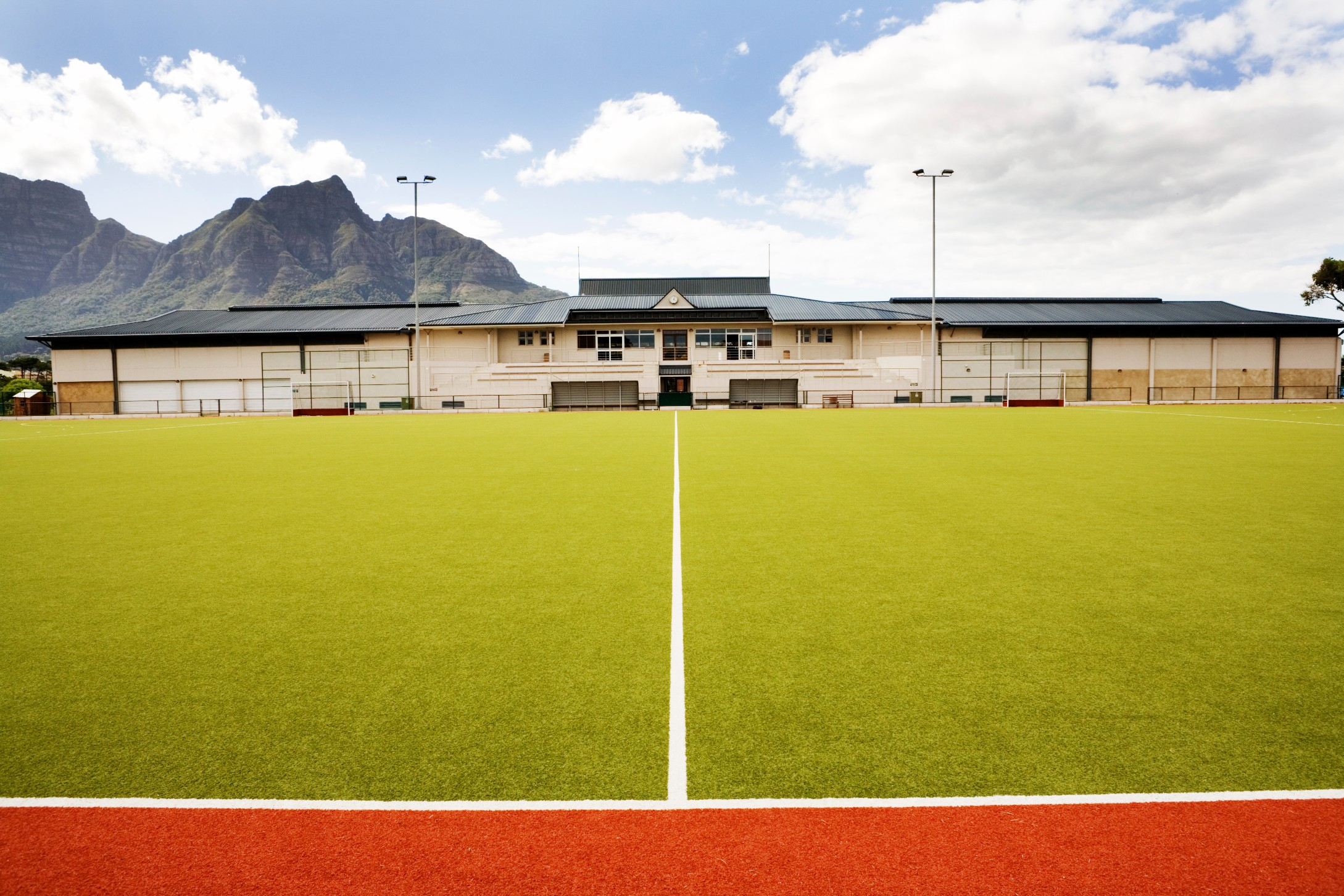 Synthetic grass artificial pitches for UK sports facilities.