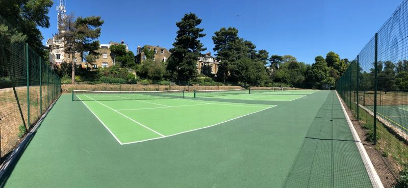 Choose ETC Sports Surfaces for tennis court resurfacing and maintenance to keep your courts in impeccable condition