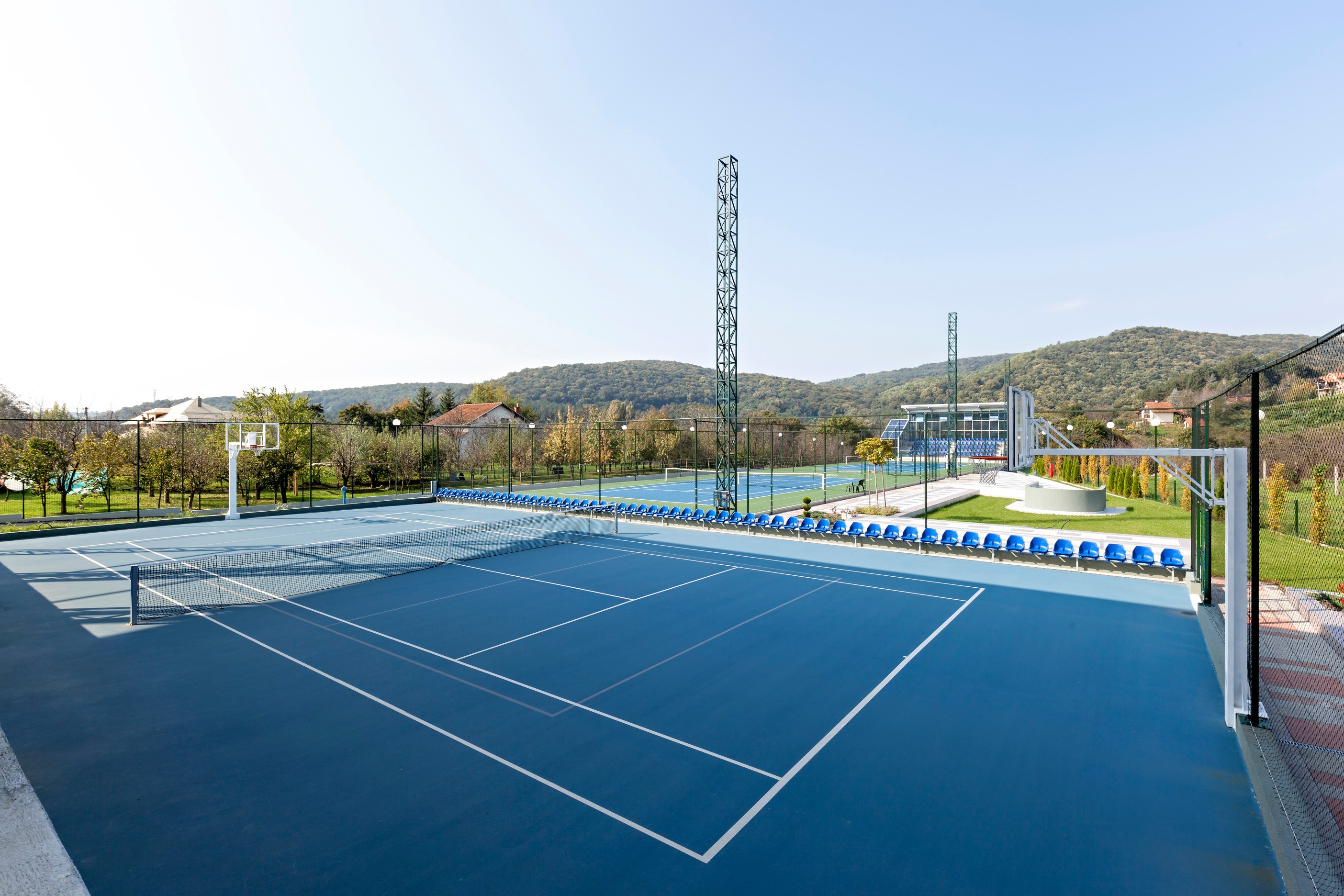 ETC Sports Surfaces specialises in tennis court surfaces installed to the highest professional standards