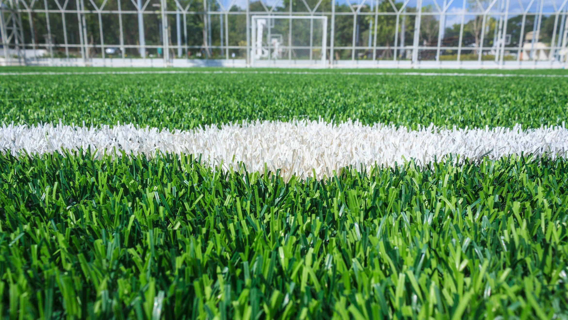 football pitch maintenance of marking lines