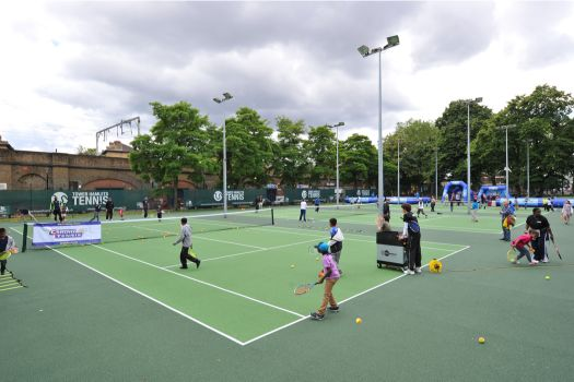 We're tennis court builders with 30 years' experience, serving UK tennis facilities with tennis surface installation, equipment and maintenance