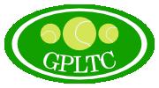 The club logo for Greenwood Park Lawn Tennis Club, Buckinghamshire
