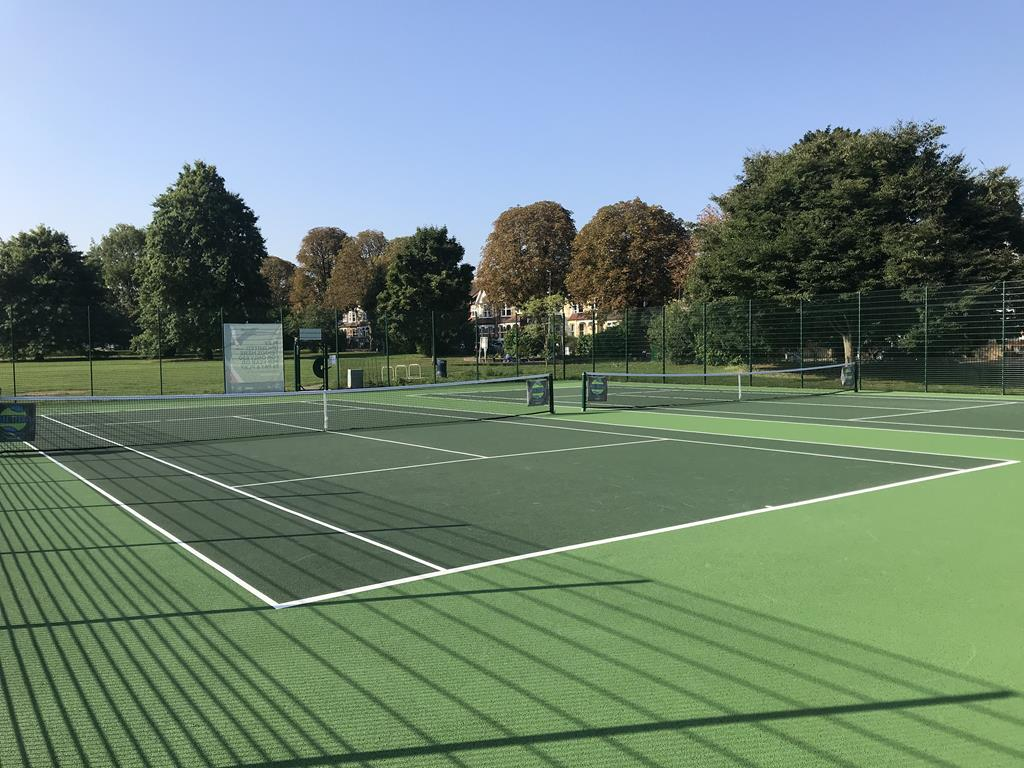 ETC Sports Surfaces tennis sport fencing in Surbiton Surrey