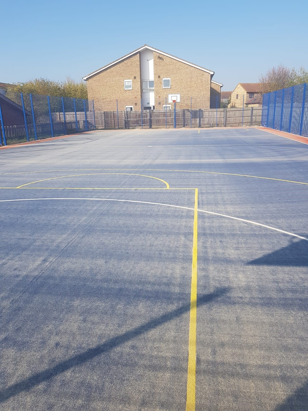 ETC Sports Surfaces delivered this MUGA construction in just 12 weeks to SAPCA approved standards