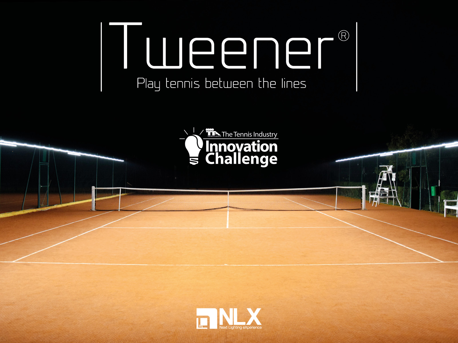 Tweener® LED tennis court lighting is exclusively available in the UK through ETC Sports Surfaces.