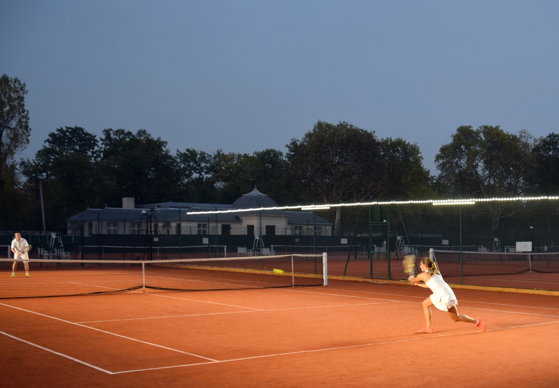 Illuminate your tennis court with lights from Tweener® at half the cost of traditional floodlights.