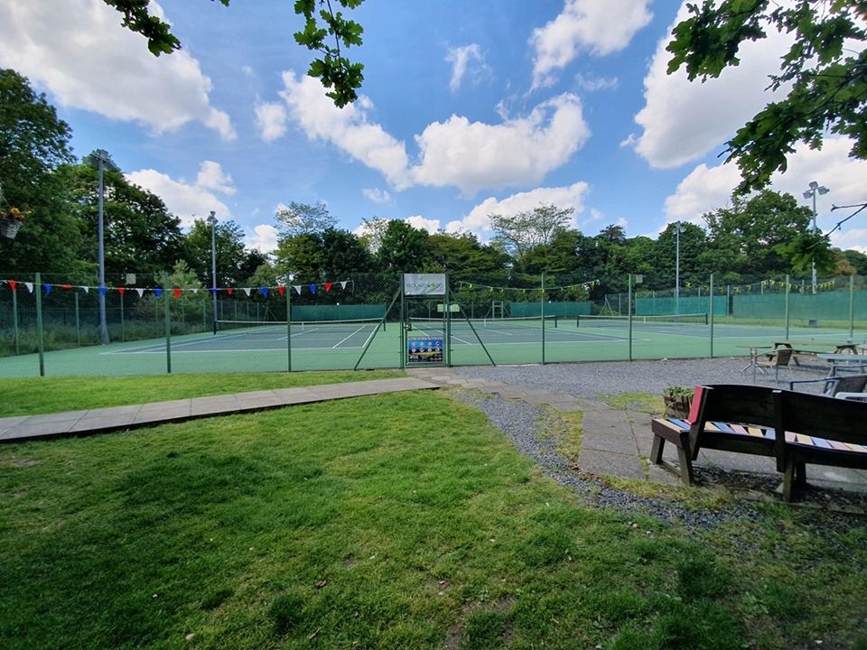 Smart, cost effective asphalt tennis courts resurfacing for Roundwood Tennis Club