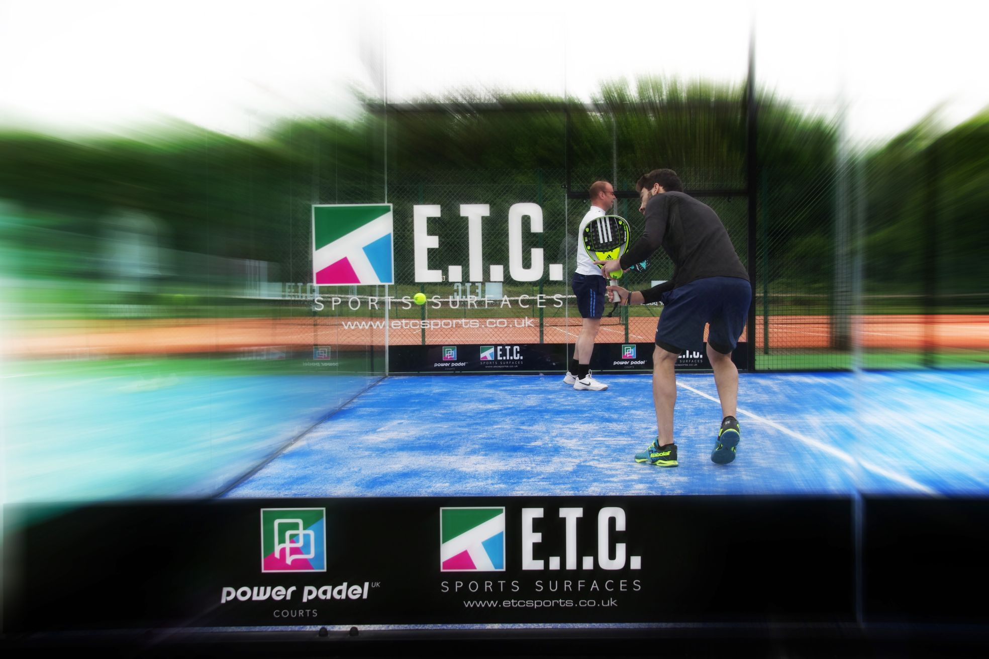 Power Padel is a new kind of Padel court installation that can be easily lifted, moved or stored to accommodate main tennis court schedules.