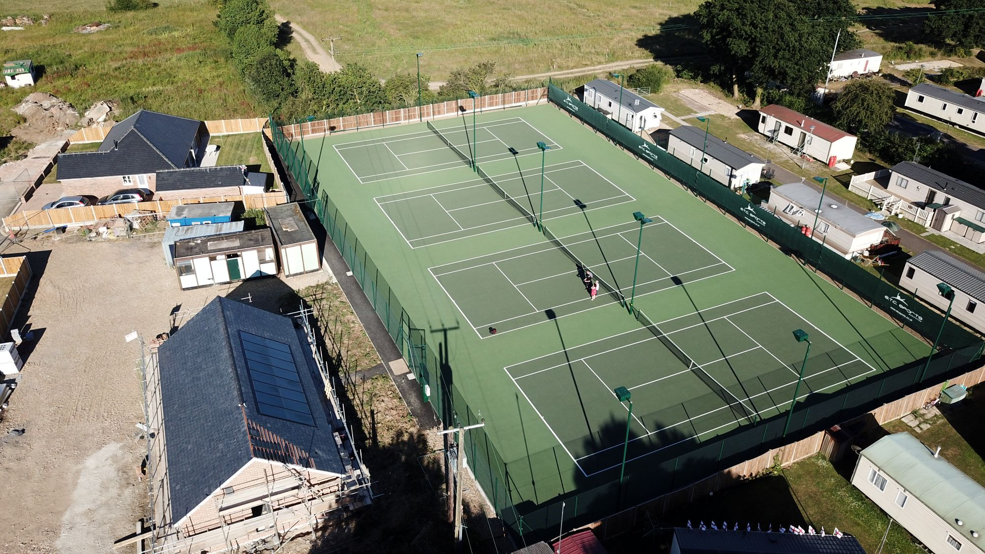 Many of our customers choose asphalt tennis surfaces thanks to their high performance and easy tennis court maintenance