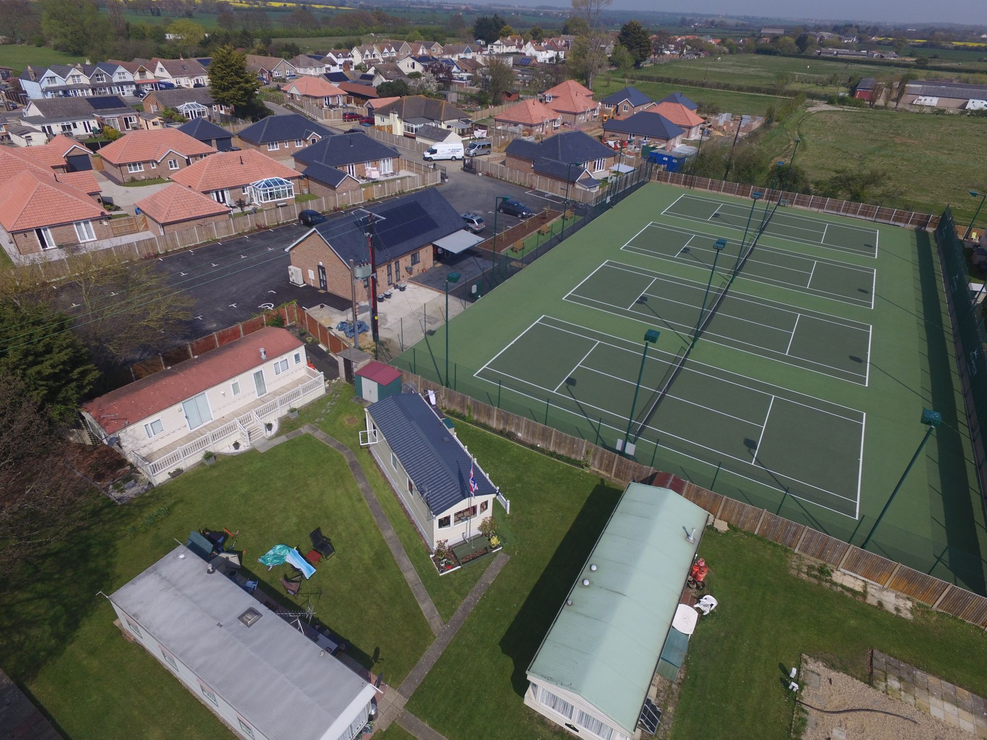 Asphalt tennis court surfaces are a high quality, affordable choice for tennis clubs in the UK