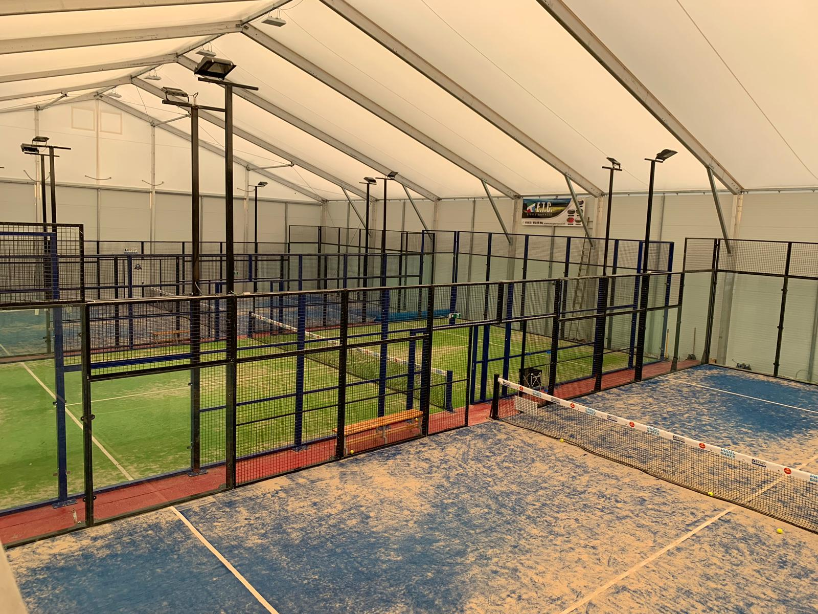 A Padel court installation from ETC Sports Surfaces is quick and easy, requiring no invasive structural works.