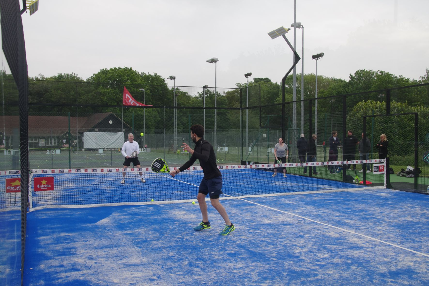 Smart, adaptable Power Padel tennis court construction from ETC Sports surfaces.