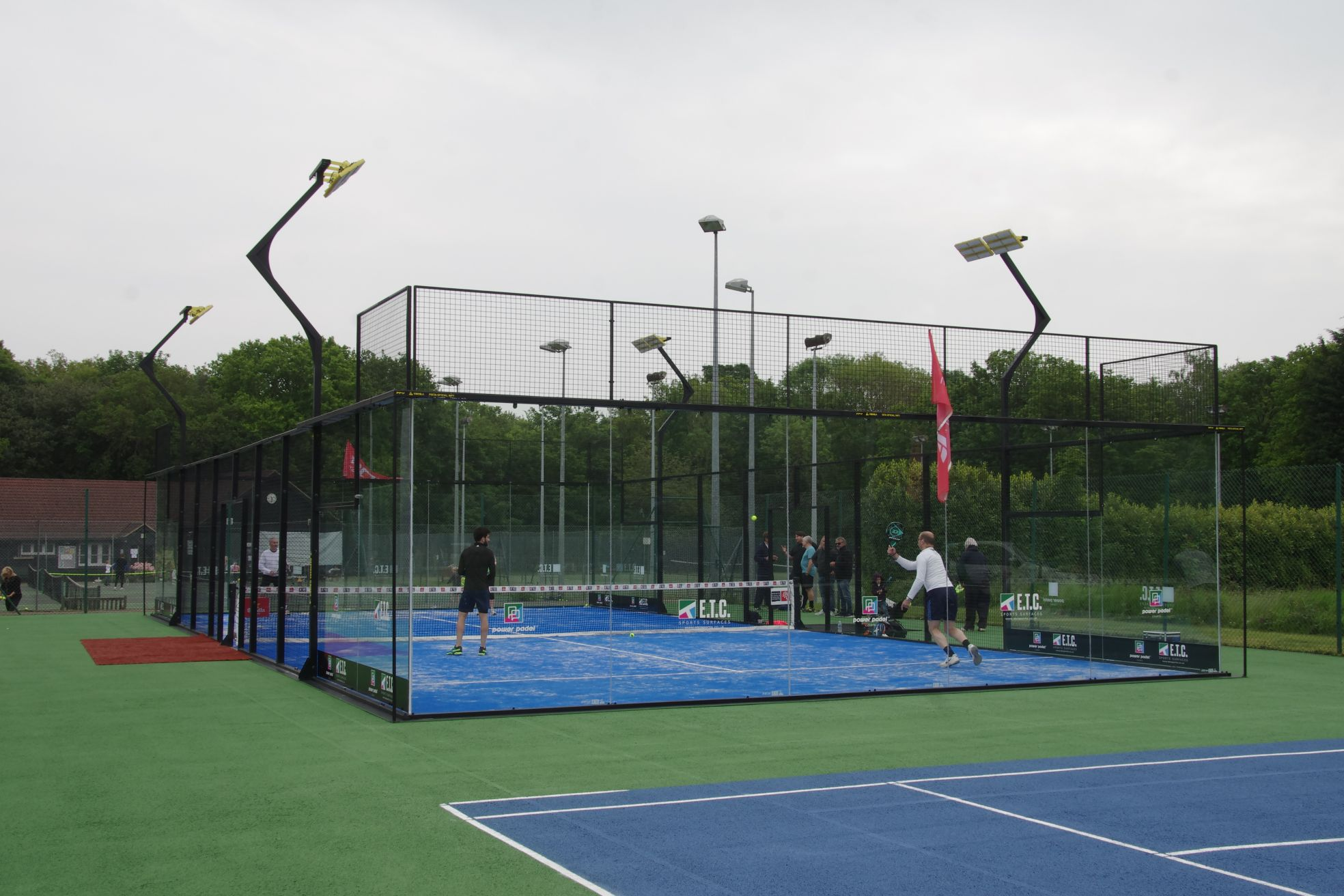 ETC Sports Surfaces are leading Padel court suppliers and exclusive suppliers of Power Padel in the UK.