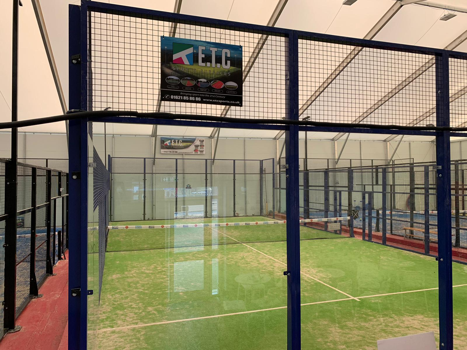 ETC Sports Surfaces are the only leading UK main contractor approved as Power Padel court suppliers for tennis and sports venues.