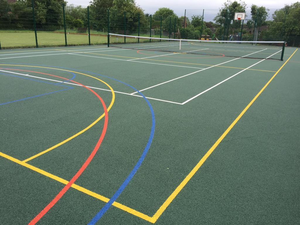 ETC Sports Surfaces has just installed a new asphalt MUGA for a Cambridgeshire community.
