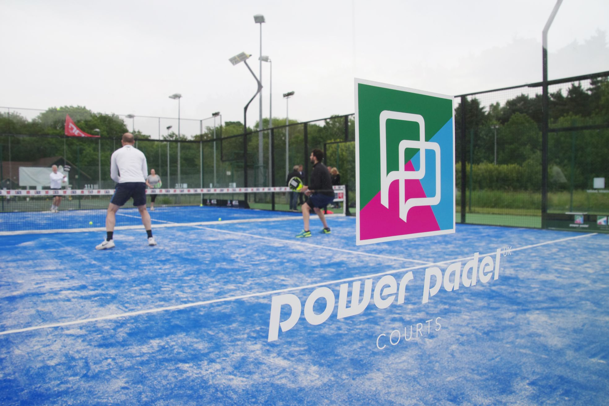 Padel Court Construction is now available from ETC Sports Surfaces, the only UK main contractor supplying Power Padel.