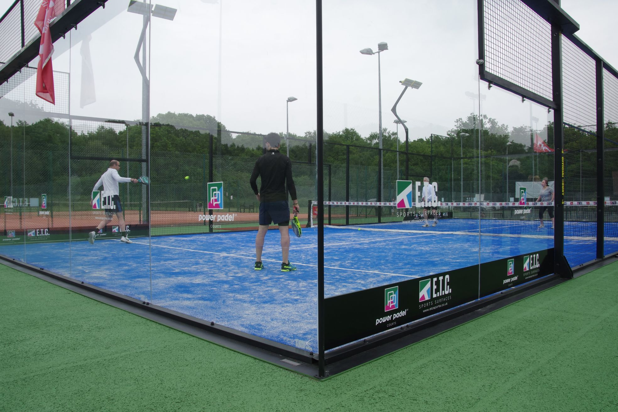 In partnership with Pista Padel, Padel court construction is exclusively available in the UK from main contractors, ETC Sports Surfaces.