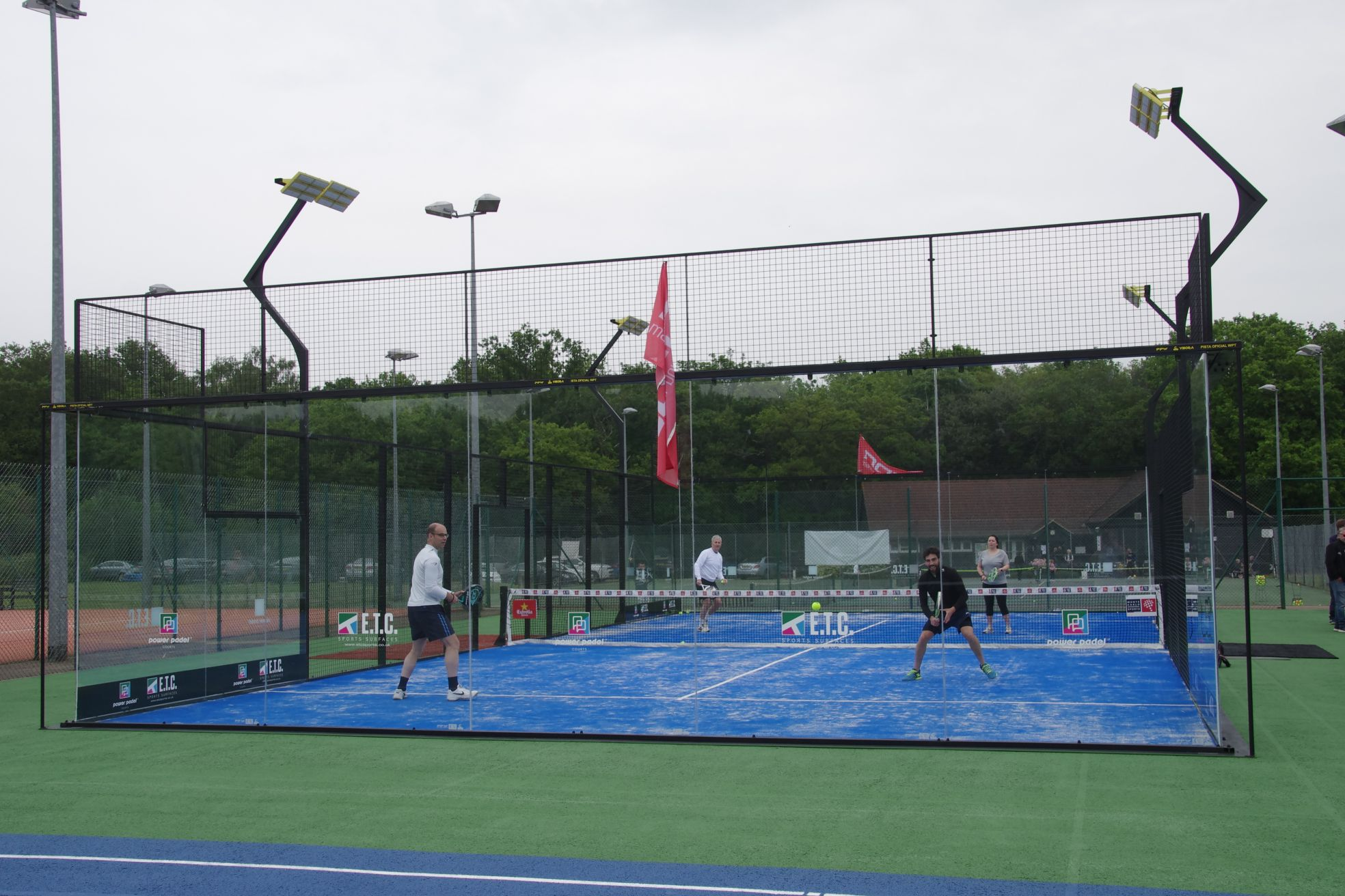 Choosing a Power Padel court installation from ETC Sports Surfaces can attract new players and increase your tennis court's revenue.
