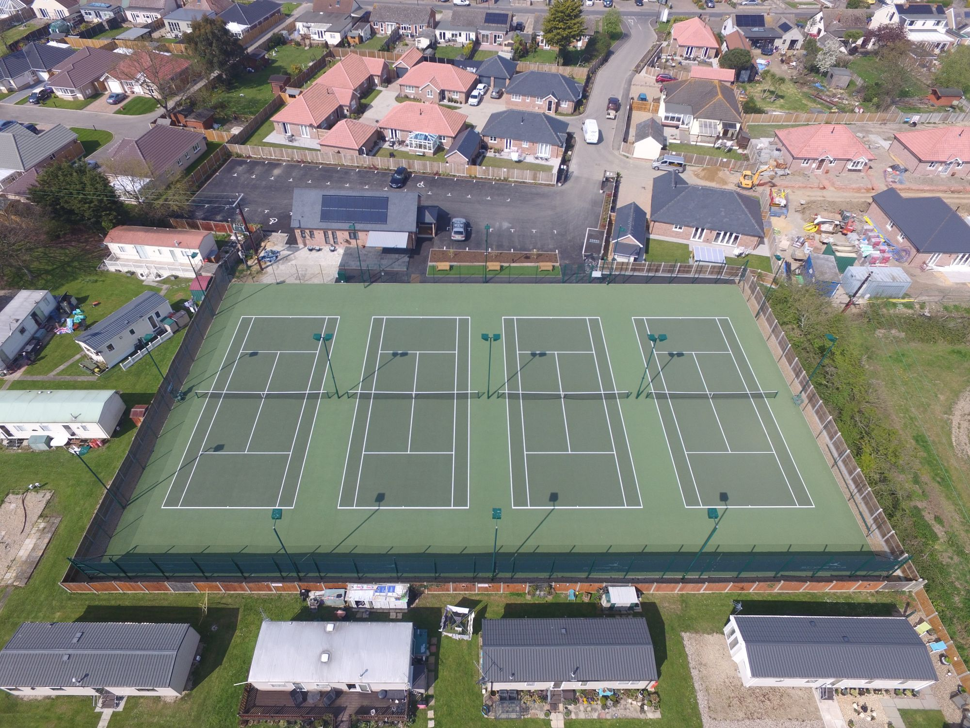 Our state-of-the-art asphalt tennis court surfaces are fully SAPCA compliant and constructed to the highest industry standards