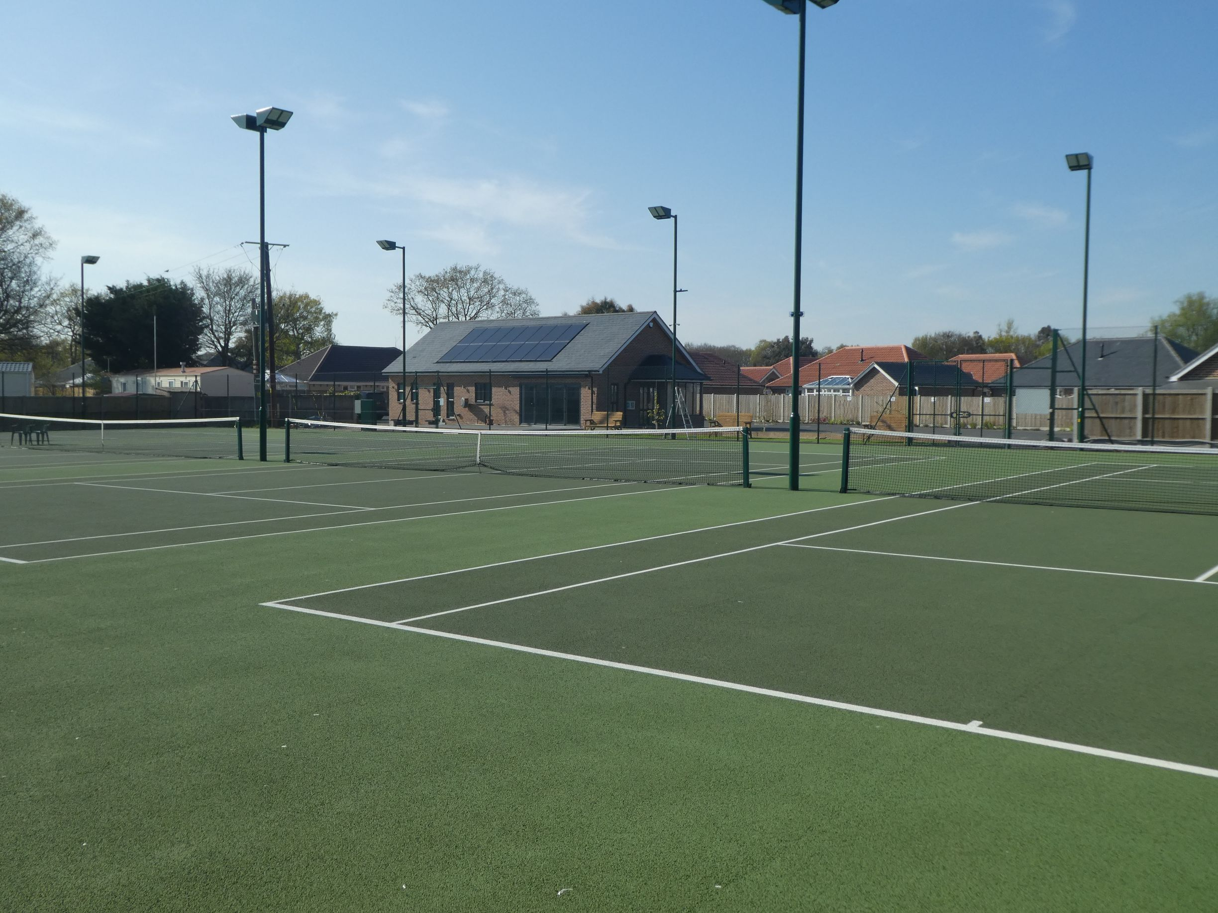 Thanks to their durability, asphalt surfaces are one of the best choices for minimal tennis court maintenance requirements