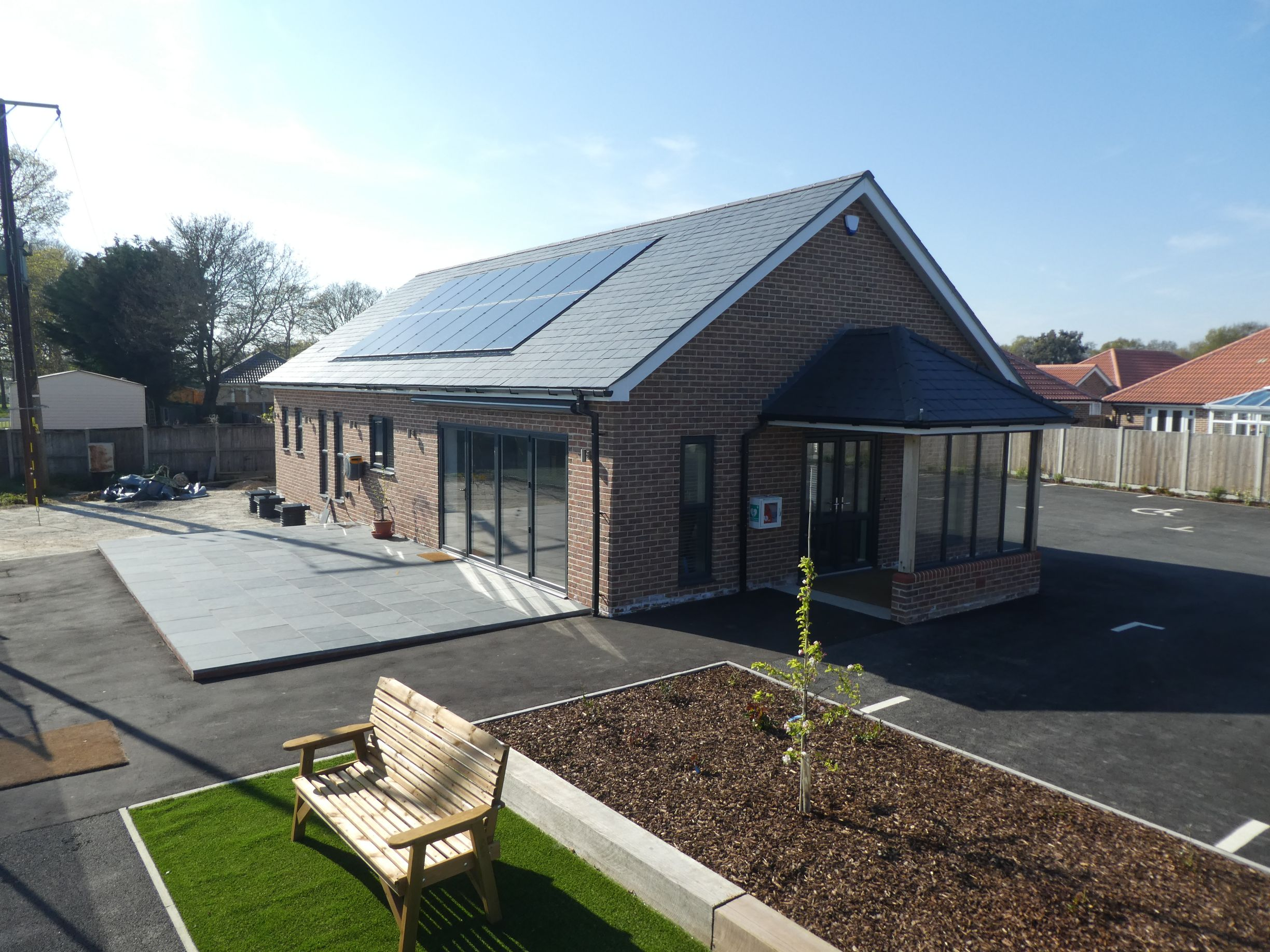 Little Clacton Tennis Club invested £500K in a major upgrade of its tennis court surfaces, clubhouse and facilities