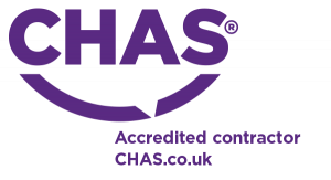 We're accredited members of CHAS, ensuring exemplary health and safety practice in our sports pitch construction projects