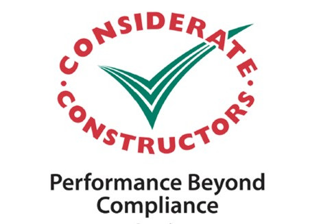 ETC's sports pitch construction services have exceeded the Considerate Constructors Scheme compliance standards for another year.