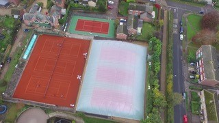 These Lano Grand Clay courts were the ideal choice for a leading tennis club in Suffolk