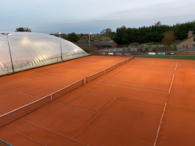 ETC Sports Surfaces recently installed new Lano clay tennis courts for Newmarket Lawn Tennis Club